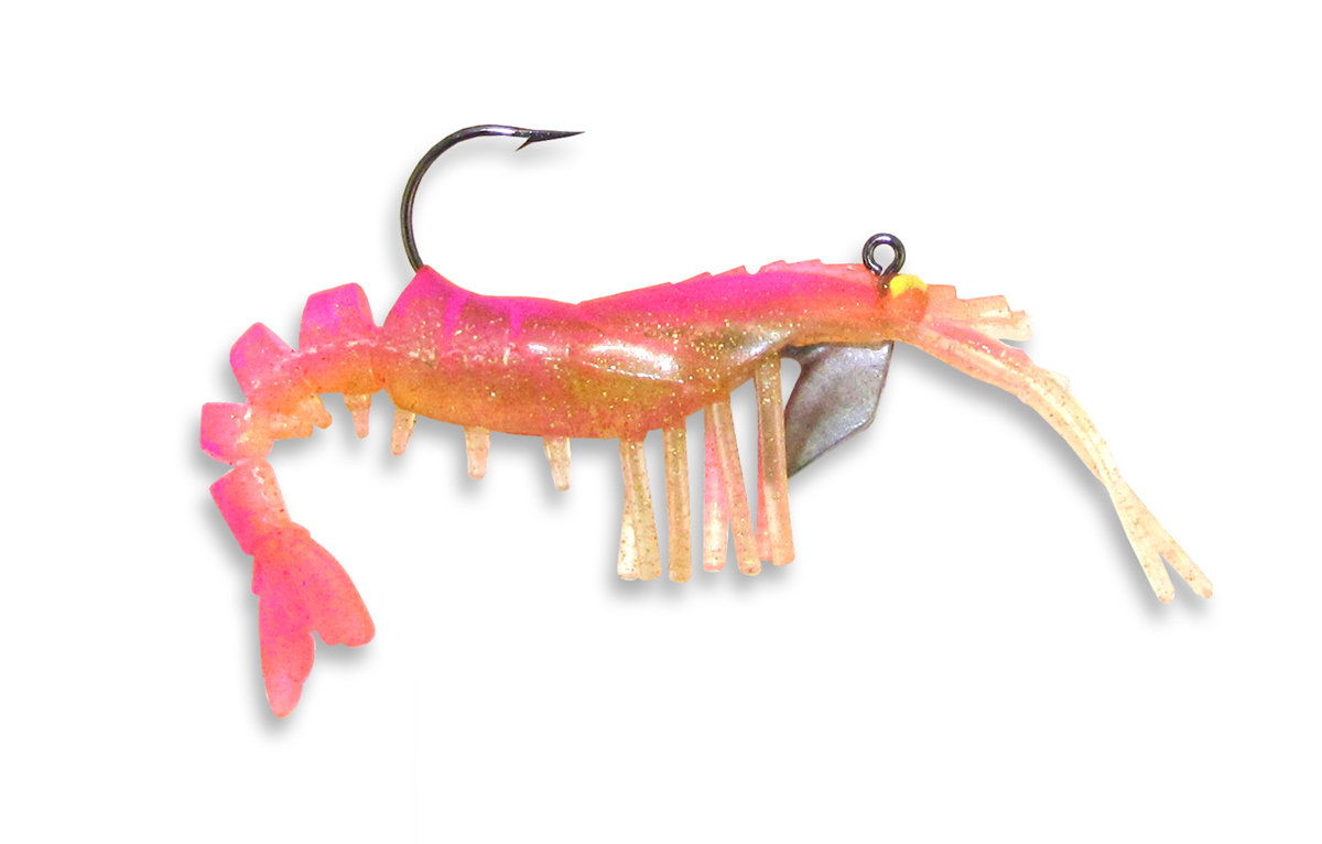 14 Vudu Shrimp Pink 2 inch 1/16 oz (2pk)