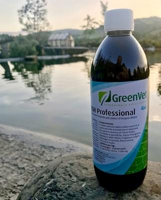 biocondizionatore GreenVet Gill Fish 1/2 litro