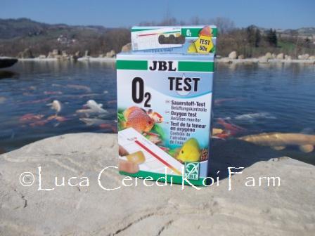 Test Ossigeno disciolto  O₂