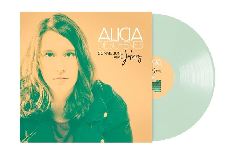 ALICIA DESCHÊNES- Comme June aime Johnny (album Vinyle)