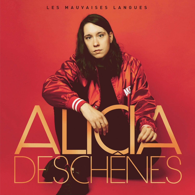 Alicia Deschênes - Les mauvaises langues (album CD)