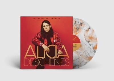 Alicia Deschênes -  Les mauvaises langues (album vinyle noir et orange)