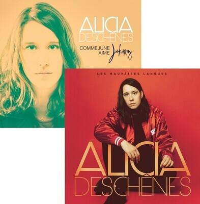 """Pack 2 CD album """"Les mauvaises langues"""" + """"Comme June aime Johnny"""""""