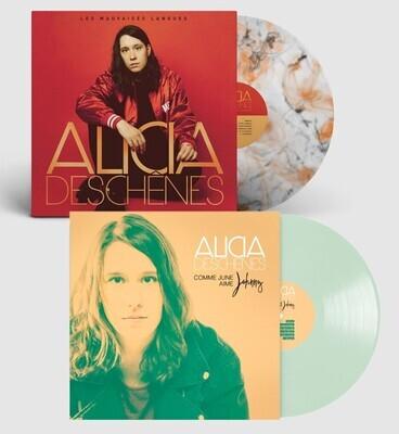 """Pack 2 Vinyles album """"Les mauvaises langues"""" + """"Comme June aime Johnny"""""""