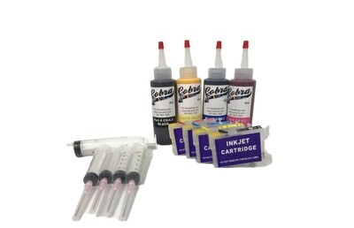Code 252XL Sublimation combo pack New CS/4.3 ink  Fits the New Epson Desktop Printers High Capacity