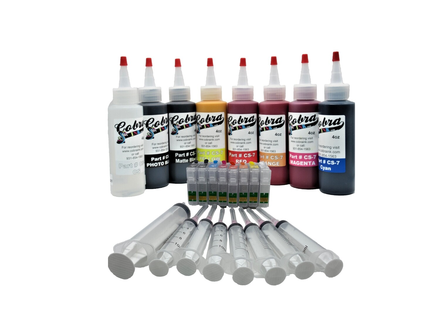 Code 324 KV2 pigment ink combo packs