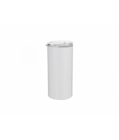 16oz stainless steel tumbler with metal straw for sublimation