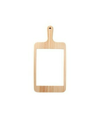 Rectangle cheese board with ceramic tile insert