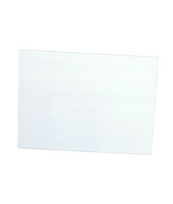 Glass cutting board with white bottom 12