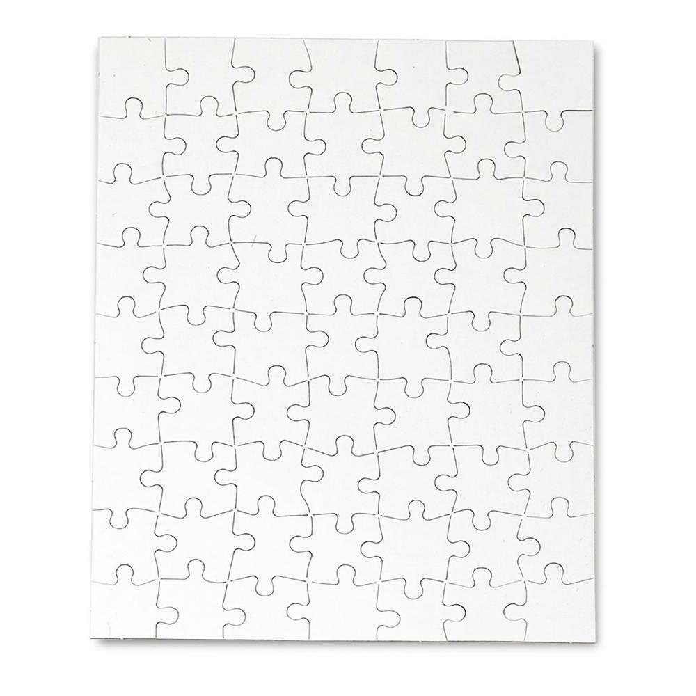 Custom Paper Sublimation Blank Printable Jigsaw Puzzle 120pcs
