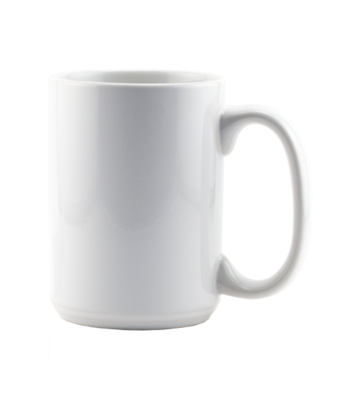 15oz white blank mug for sublimation