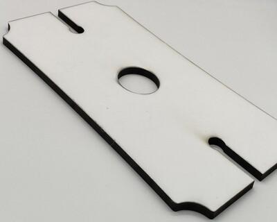 Sublimation Blank Hardboard Wine Glass Holder Tray
