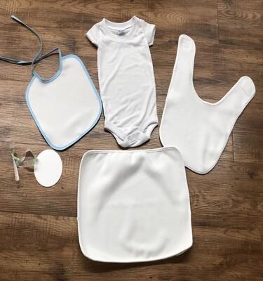 5-piece Sublimation baby boy bundle