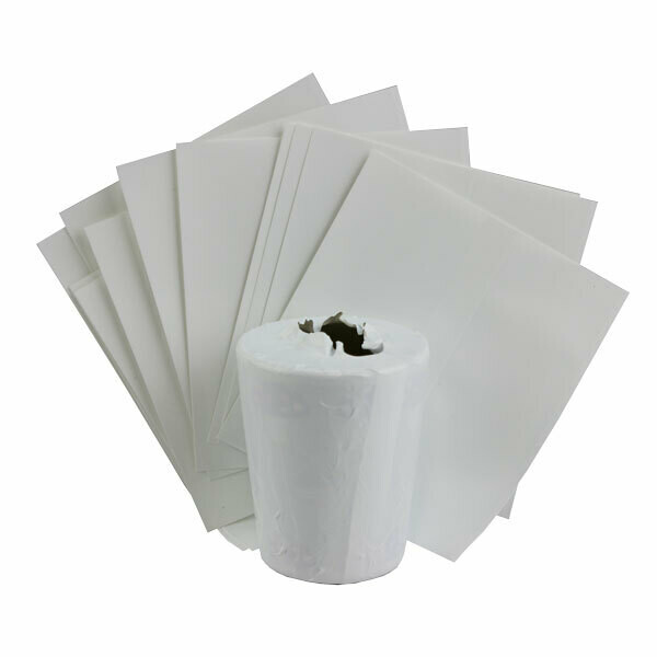 "Shrink film sleeve 3"" X 3"""