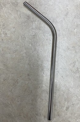 Metal stainless steel reusable drinking straw