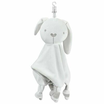 Soft Cuddly rabbit blanket buddy rattler for sublimation