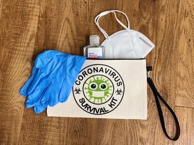 Sublimation small zipper bag