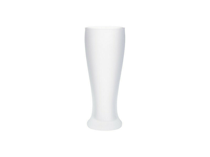 20 oz frosted pilsner glass for sublimation