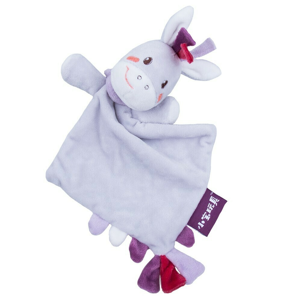 Donkey plush baby toy
