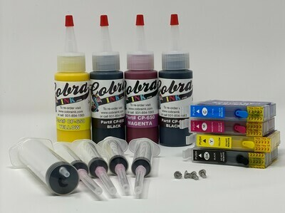 High Capacity  Code XL252 Pigment Ink combo pack