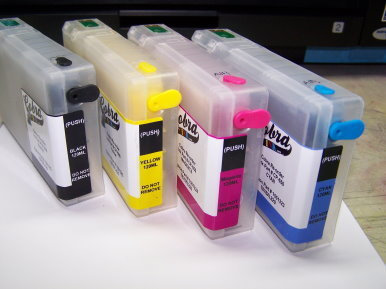Cobra Ink Code 676XL High Capacity 4 color Desktop Dye Base ink