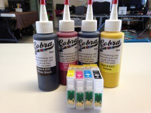 Code 69  Sublimation combo pack CS/4 ink 2 Black / 3 Color