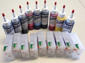 Code 58 Sublimation combo pack CS/9 ink