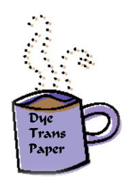 Dye Trans Pre- Cut Coffee Mug Sublimation Paper