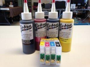 Super High Capacity  Code 127 Dye Base combo pack