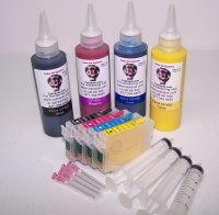 High Capacity  Code XL254 Dye Base combo pack