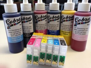 High Capacity  Code 98 Pigment Ink combo pack