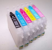 Code 48 High Capacity 6 color empty refillable