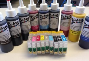 Code 96Sublimation combo pack CS/8-9 ink