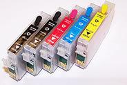 Cobra Ink Code 68 5 color Pre-filled Pigment ink singles and sets