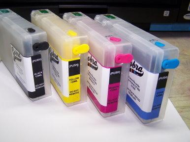 Cobra Ink Code 676XL High Capacity 4 color Desktop Dye Base ink