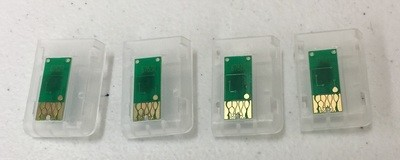 676XL replacement chips for refillable cartridges