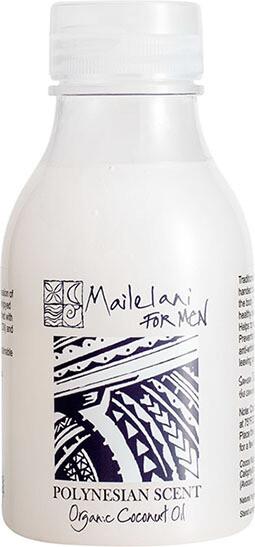 END OF STOCK OIL - For Men (Polynesian Scent) Organic Coconut Body Oil 300ml / 10.14 fl oz