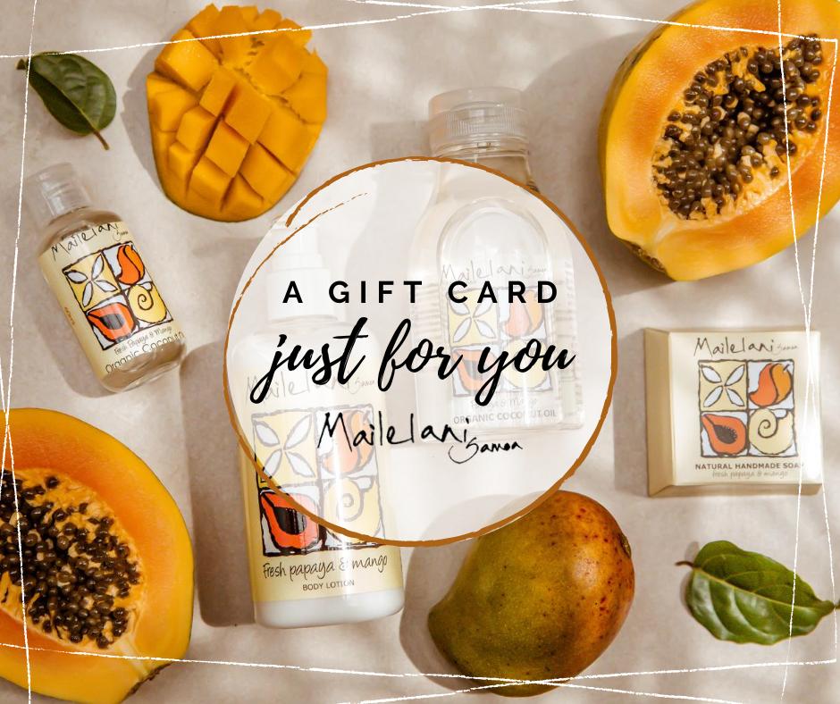 Mailelani Gift Card