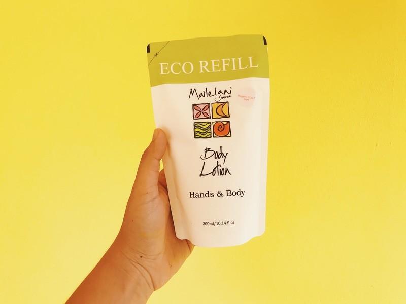 Frangipani & Lau Ti Infusion - Eco Refill Pouch 300ml Lotion