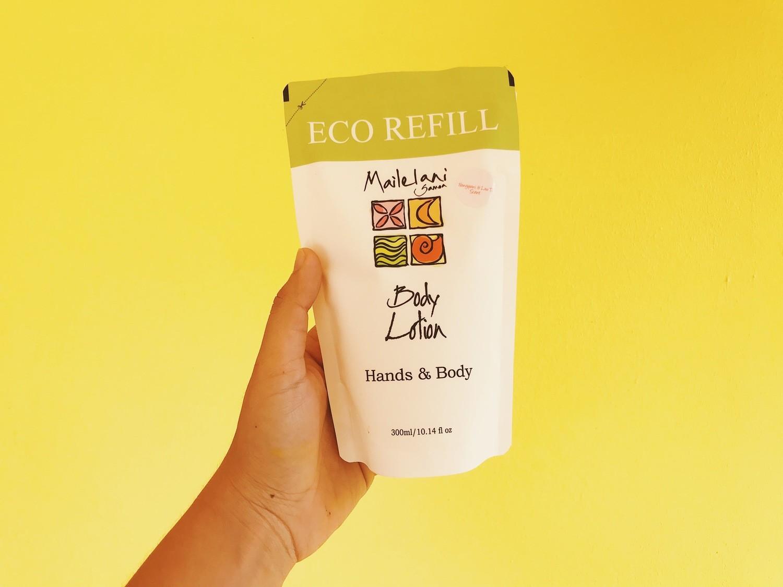 Vanilla & Koko Samoa - Eco Refill Pouch 300ml Lotion