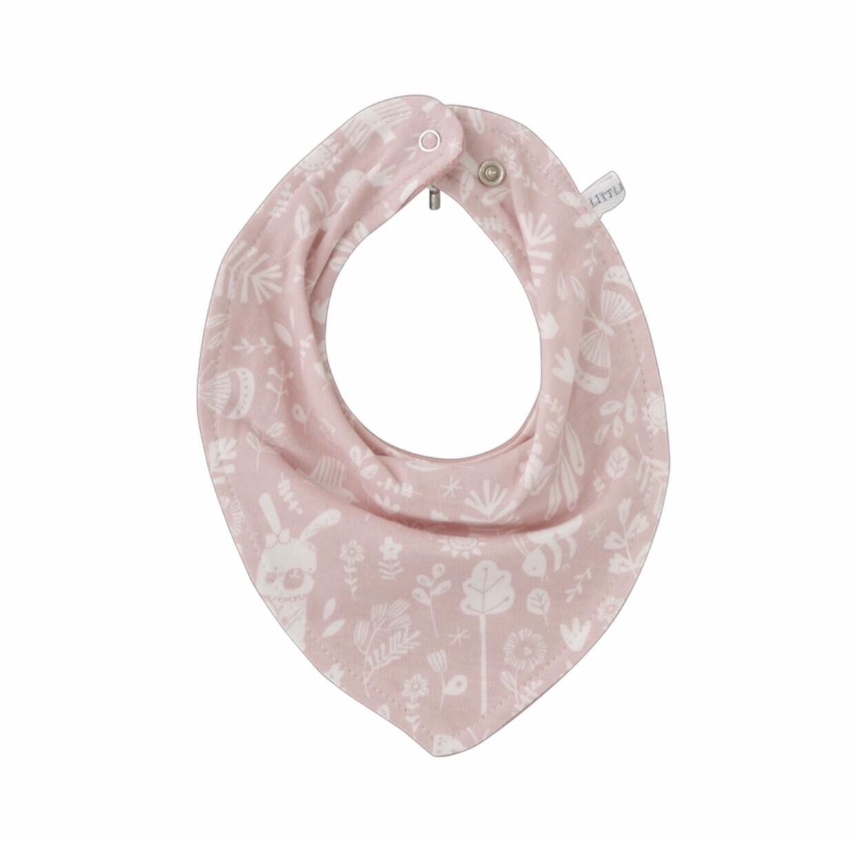 Bandana Halstuch Hasenmuster  rosa