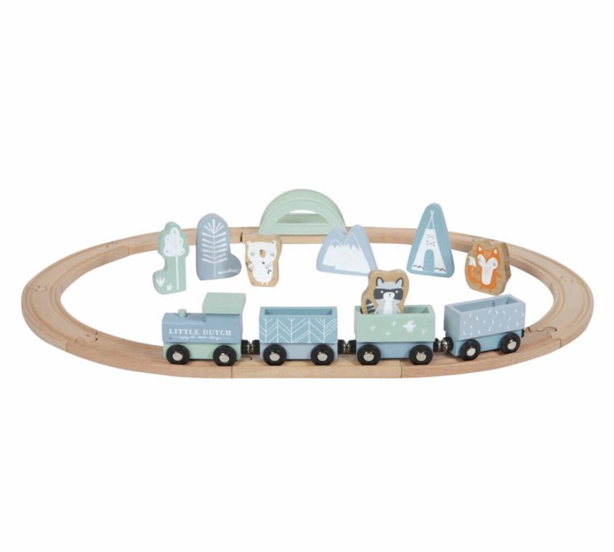 Eisenbahn Mit Schienen