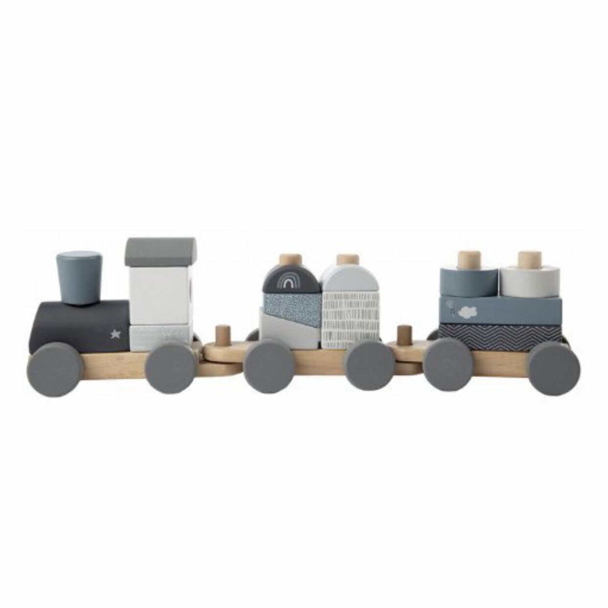LL Holzeisenbahn Blau
