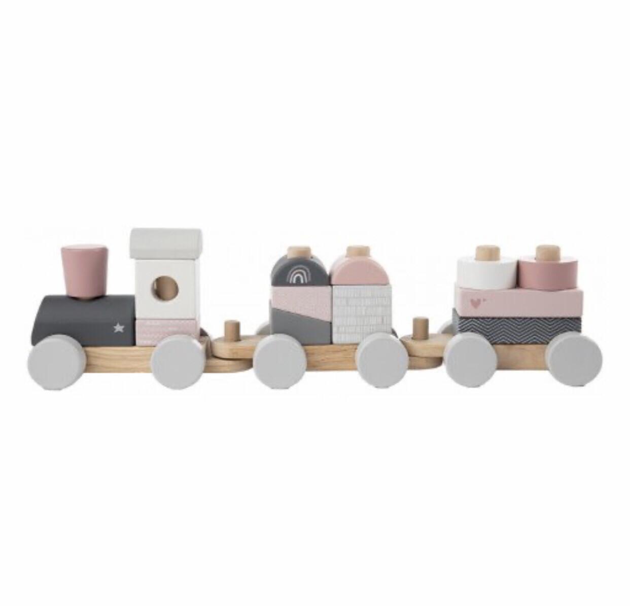 LL Holzeisenbahn Rosa