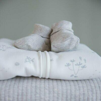 Babyschuhe Grau Little Dutch