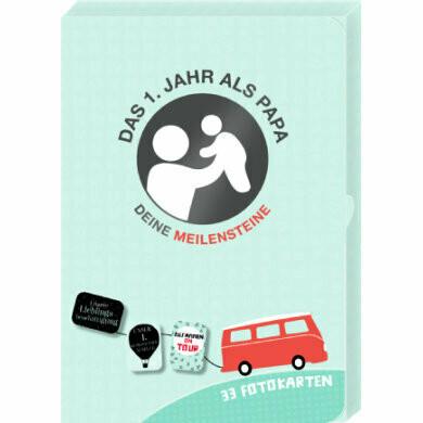 Meilenstein Karten-Set Das 1.Jahr als PAPA