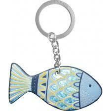 Fisch Leder Anhänger