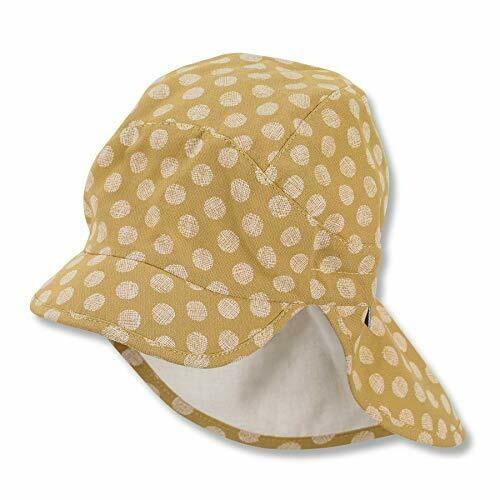 Schirmmütze mit Nackenschutz Gelb