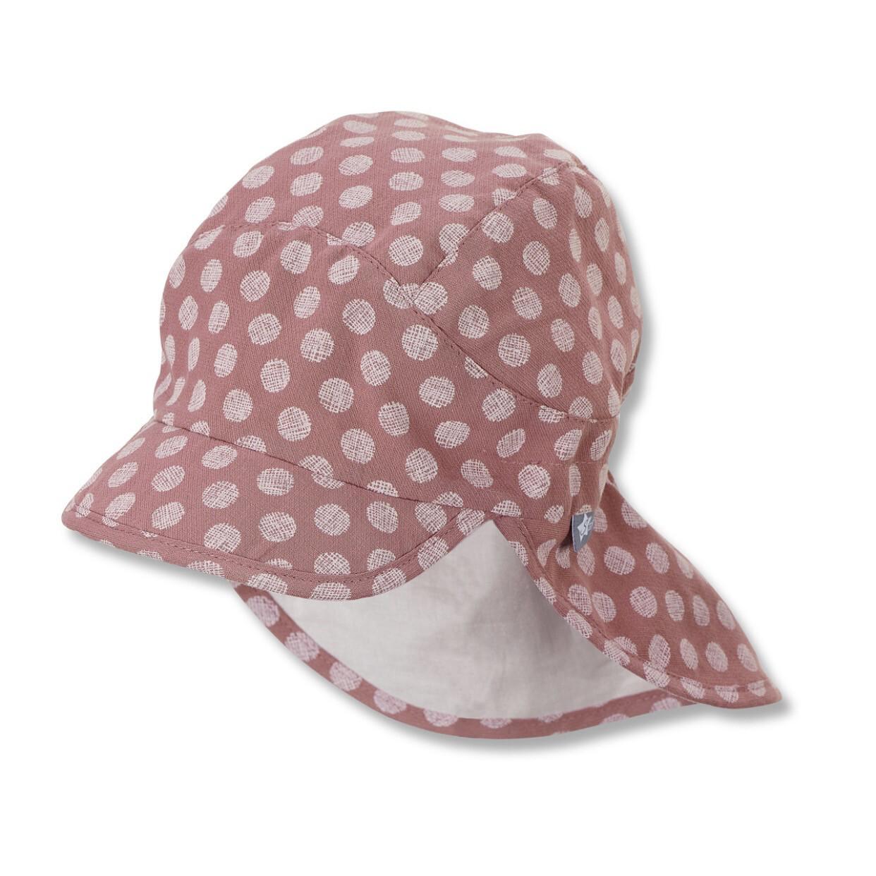 Schirmmütze mit Nackenschutz Rosa
