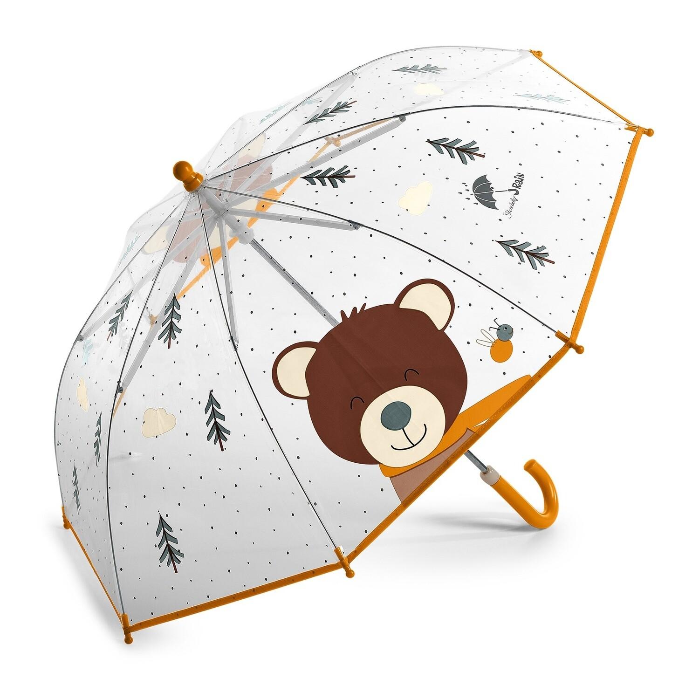 Regenschirm Bär
